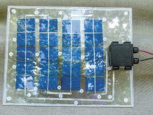 Lofty Energy Solar Panel charge finish