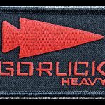 GORUCK participants get a patch for completion of the event.