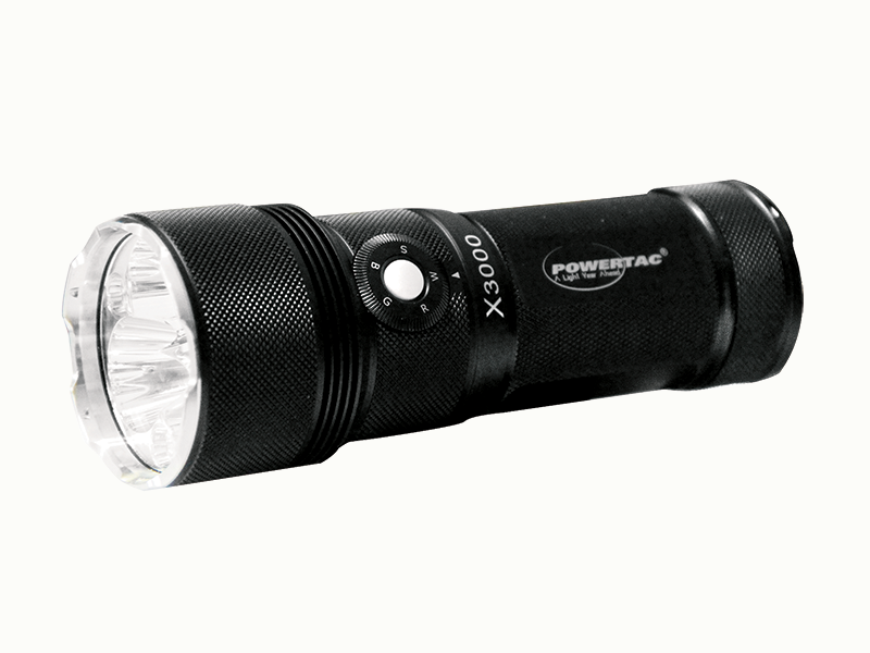 A flashlight is an essential prepper product.