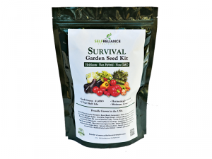 A prepper product to consider is a Self Reliance Strategies Seed Kit.