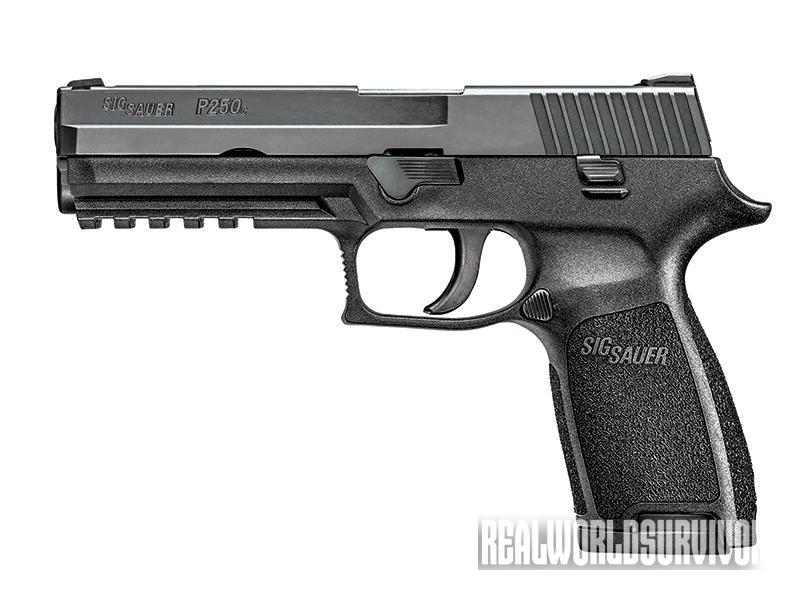 Sig Sauer P250 pistol