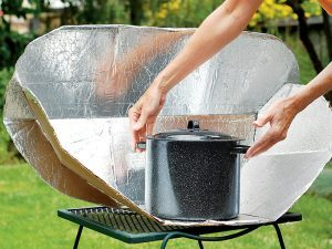 Solar cooking can be important for not only cooking, but purifying water as well.