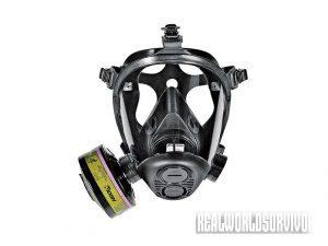 Survivair Opti-Fit CBRN gas mask