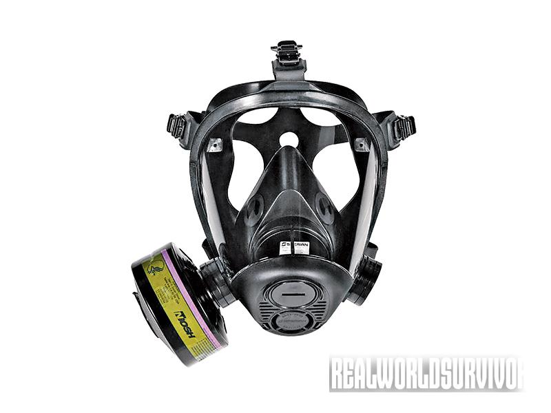 Survivair Opti-Fit CBRN gas mask