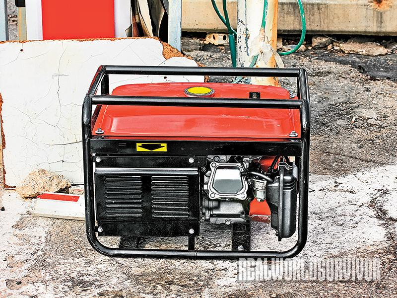 Generators are important for your survival group to have on hand.
