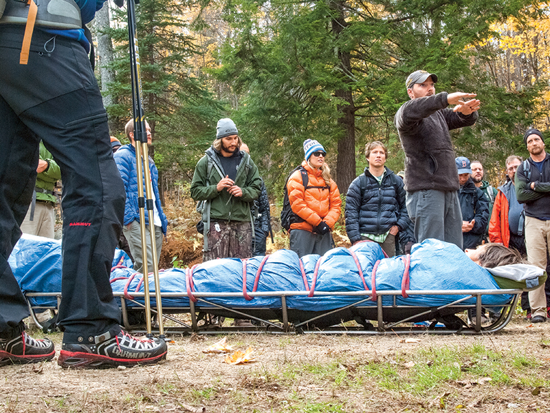 SOLO's Wilderness First Aid course is its most popular.