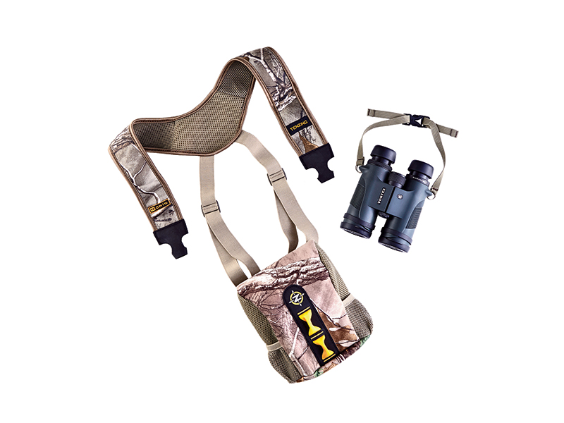The modern day mountain man may find the Tenzing BinoHolster to be very useful.