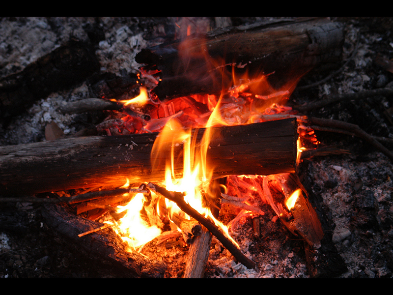 Know how to start a fire for wilderness survival.