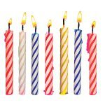 Birthday candles can be used not only as celebration starters, but as lifesaving illumination products.
