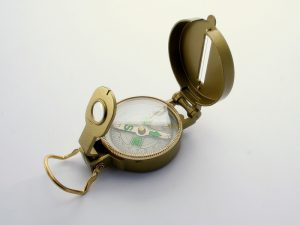 Invest in a compass for wilderness survival.