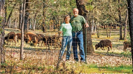 Val and Kurt Dambacher invest a lot of their time in farming for self-reliance.