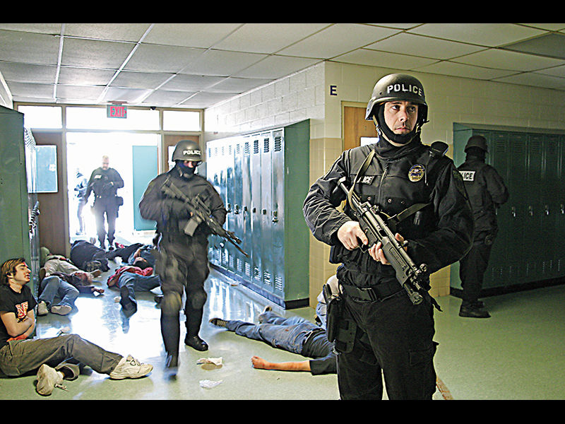 After the school shooting at Columbine High School, law enforcement has worked to lower response times to active shooter incidents.