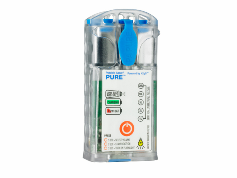 The Potable Aqua PURE Electrolytic Water Purifier is perfect for a variety of situations.