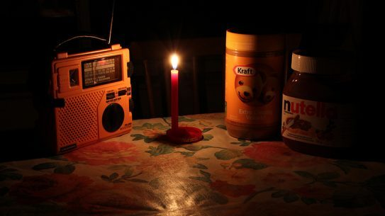 Ready.gov power outage tips