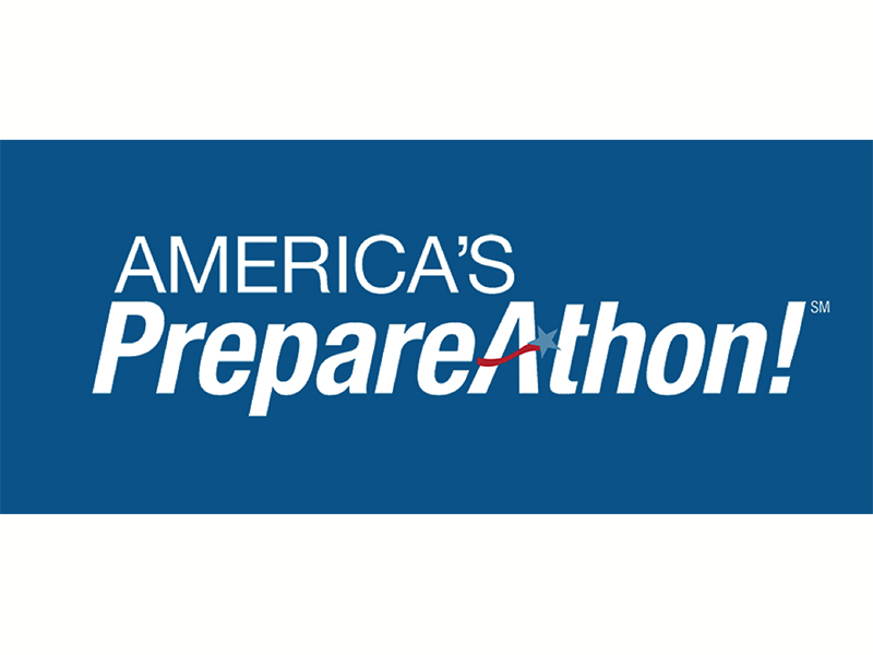 National PrepareAthon Day! is on Sept. 30.