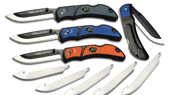The Razor-Lite EDC knife by Outdoor Edge comes in multiple colors.