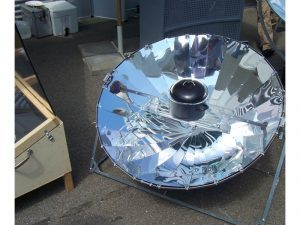 Survival can be easier with solar cookers.