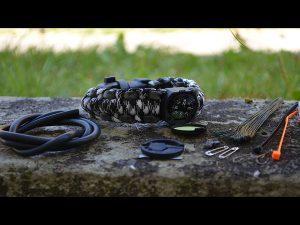 Invest in a survival bracelet.