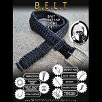 Prepinstein Designs Paracord Survival Kit Belt, EJ Snyder