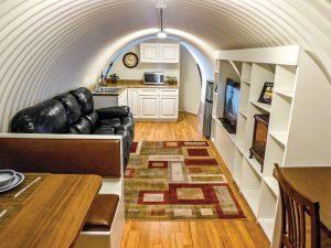 Atlas Survival Shelters corrugated shelter