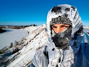 Freezing extreme weather