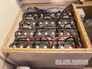 Battery maintenance is vital.
