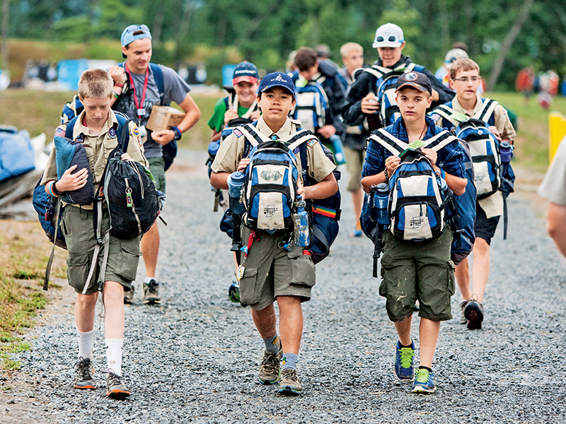 Boy Scouts of America for the youth