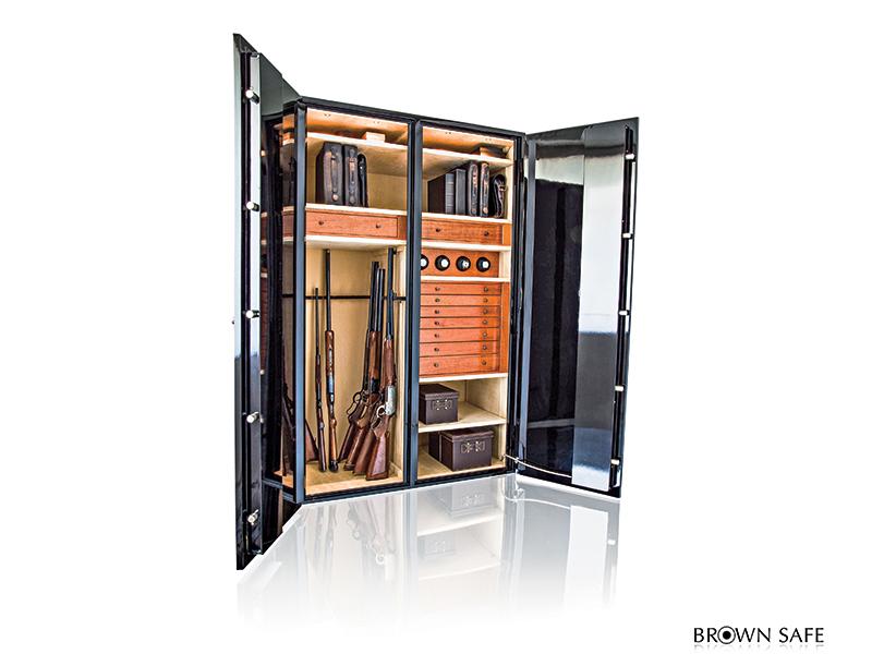 Brown Storage Safe