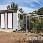 "Pat's chicken coop is called the ""Coopa Cabana."""