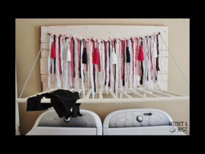 Clothing rack DIY project