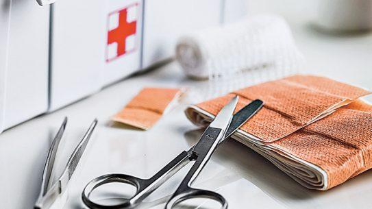 Medical supplies kit