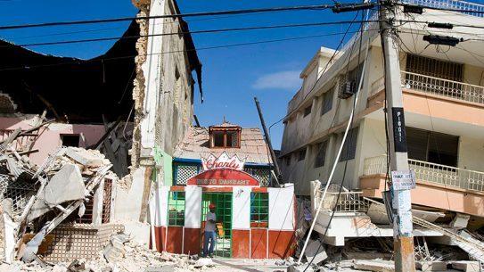 Haiti Earthquake building damage