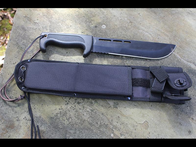 Bad Blood Jungle Commander survival blade