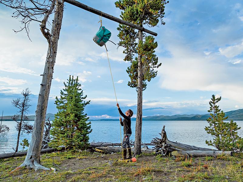 bear bag hanging