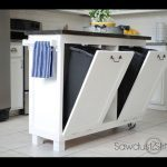 Kitchen island DIY project