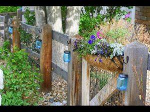 Mason jar lantern DIY project