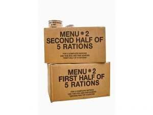 MREs are great additions to survival supplies, but can expire.
