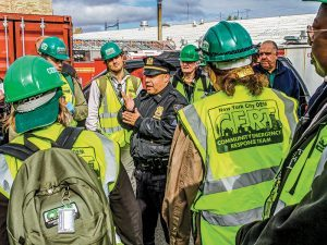 NYC CERT training