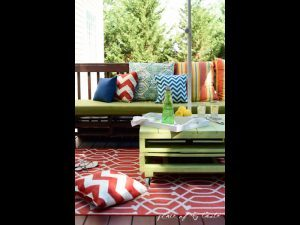Patio furniture DIY project