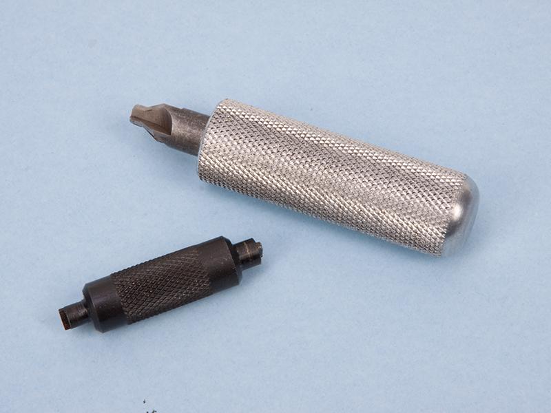 Primer pocket tools for handloading