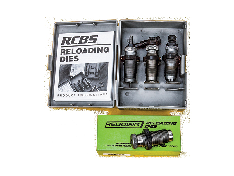 Reloading dies are essential to the handloading process.