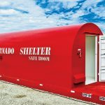 Red Dog mobile storm shelter