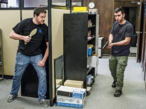 Workplace self-defense knife