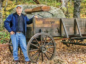 Wayne LeClair has heritage bison at Rocky Meadow Farm.