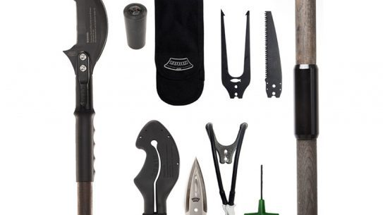 The Zubin Axe complete kit comes with a variety of useful attachments.