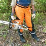 Chainsaw chaps
