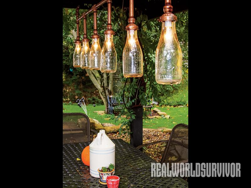 Jacobs Heritage Farm light fixture