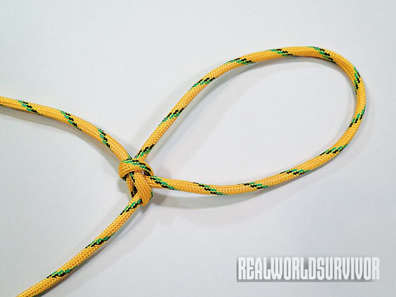 Learn to tie a bowline knot.