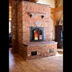Brick masonry heater