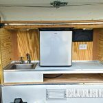 A useful galley area for the camper.